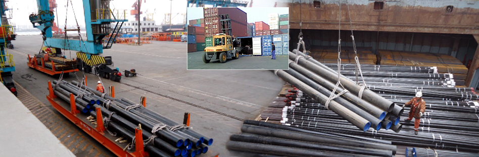 to ship stainless steel pipe